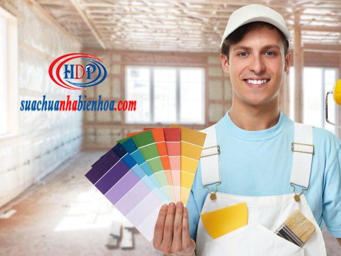 Báo giá thi công sơn nước