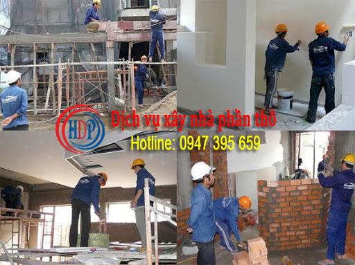 Dịch vụ xây nhà phần thô