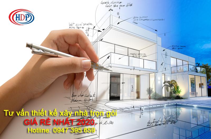 Tư vấn thiết kế xây nhà trọn gói giá rẻ nhất 2020.