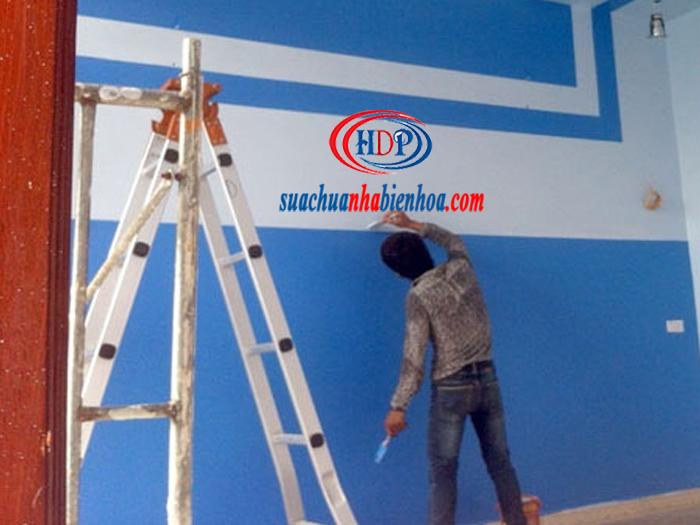 Thi công sơn nước tại Biên Hoà