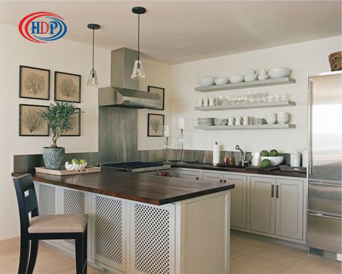 thiết kế nội thất nhà bếp gọn gàng